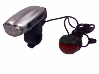 Eclairage AV et AR pour vélo