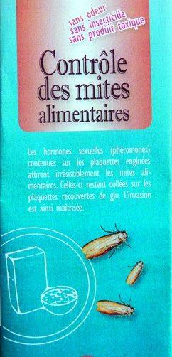 contrôle des mites alimenaires