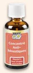 concentré anti-moustiques aux huiles essentielles