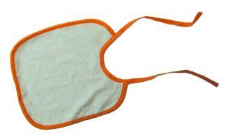 bavoirs absorbants en coton bio