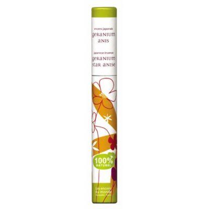 encens végétal géranium anis