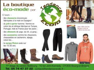 Notre deuxième magasin consacré aux vêtements Bio et chaussures