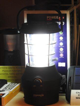 lanterne solaire et dynamo