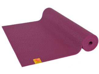 Tapis de yoga prune