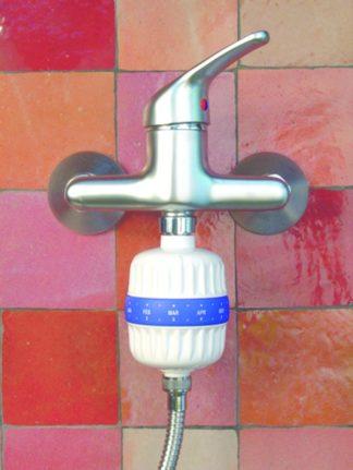 filtre chlore pour la douche ou le bain