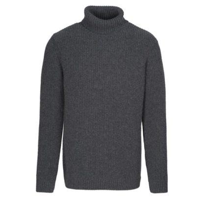 Pull laine et coton