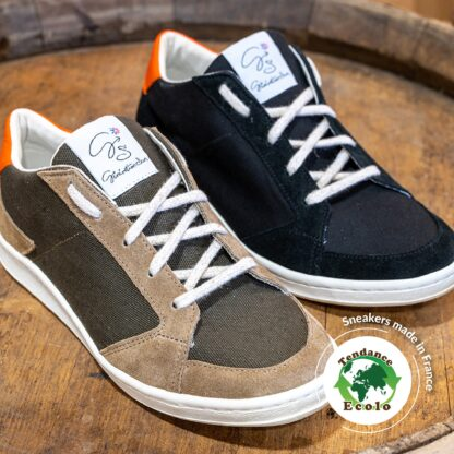 Sneakers recyclées et Made In France !